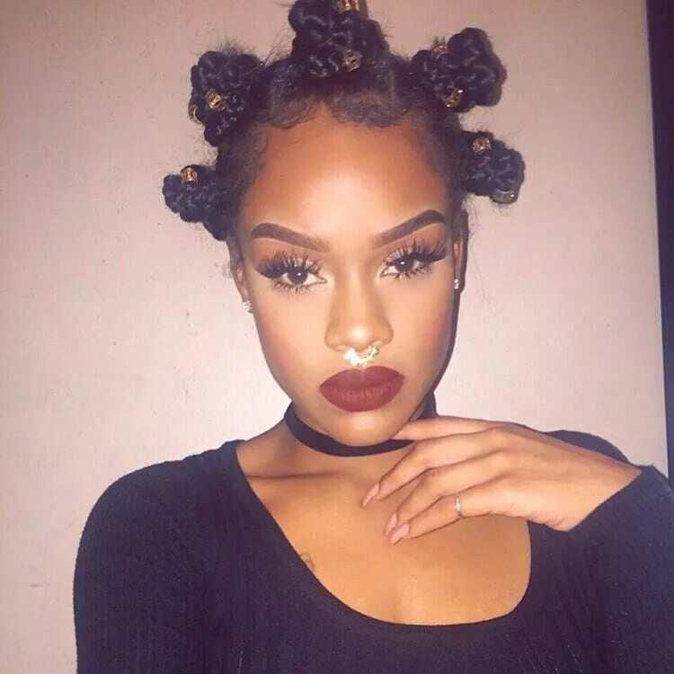 Natural African hairstyles for ladies in Ghana