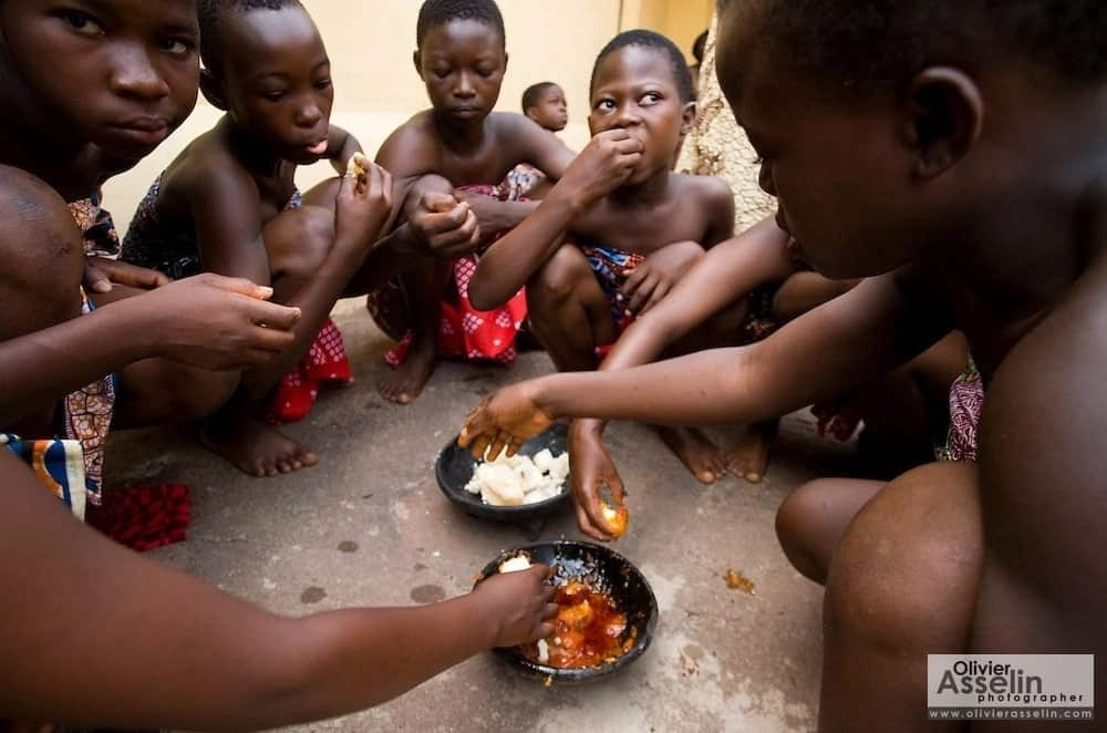 Consider, that African puberty rituals