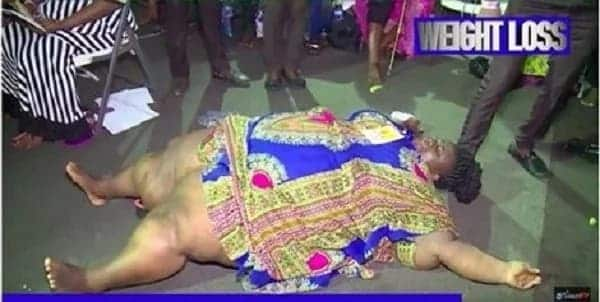 Nigerian pastors pray for obese woman to lose weight