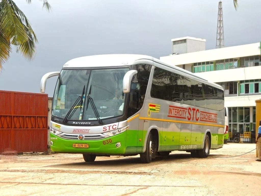 STC Ghana bus schedules & fares 2018