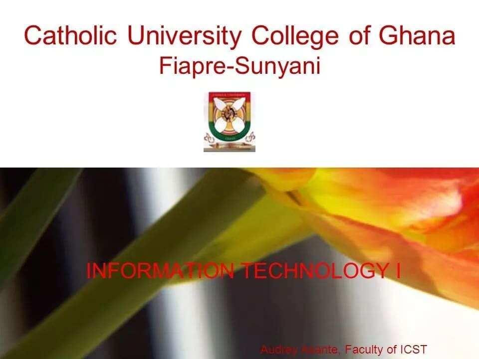 catholic university college of ghana tuition fees catholic university college of ghana courses catholic university college of ghana admission forms