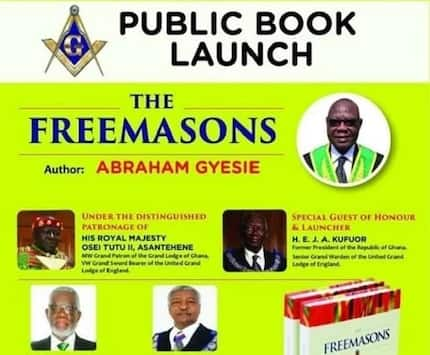 Freemasons book launch featuring Otumfour, Kufour stirs controversy on social media