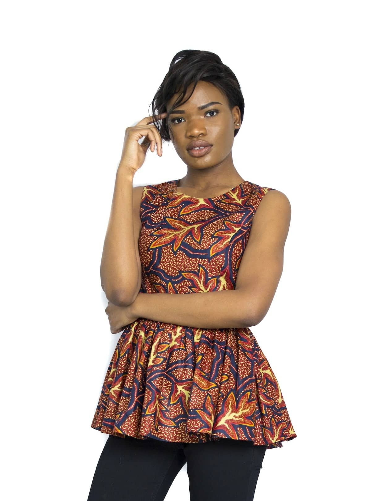 Latest African Wear Tops for Ladies - Peplum Tops