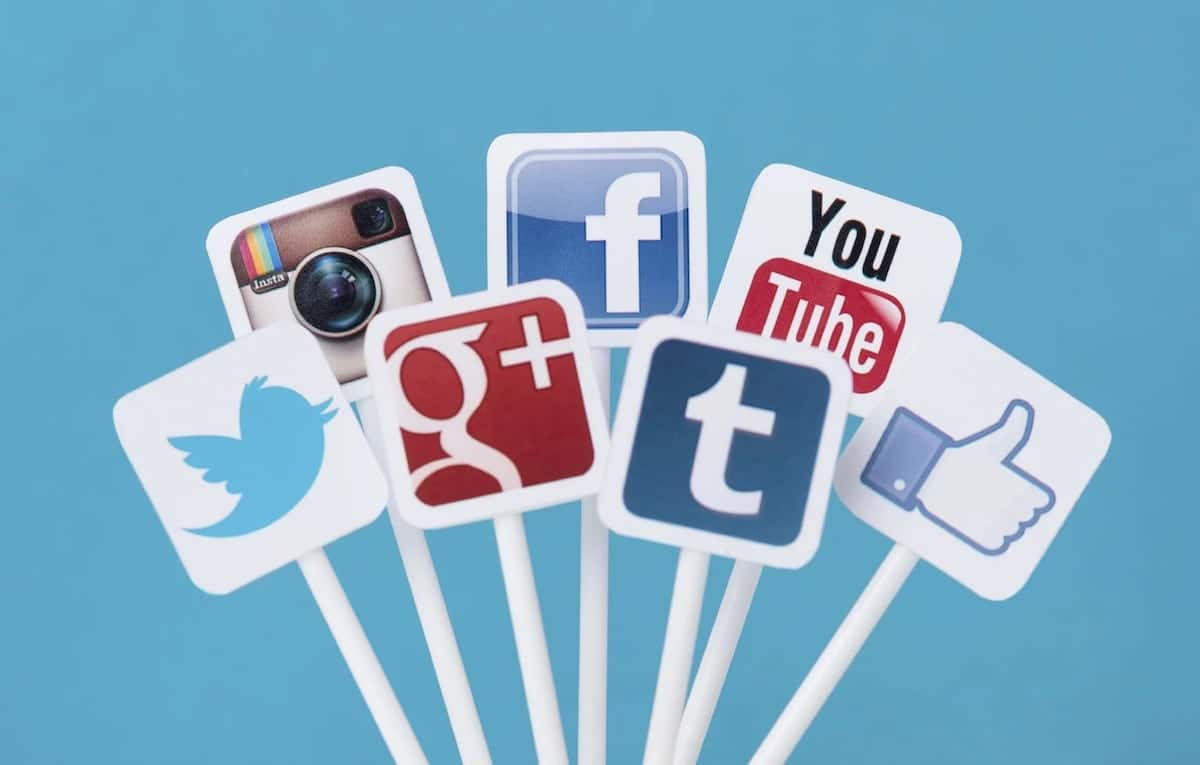 A photo of some social media apps