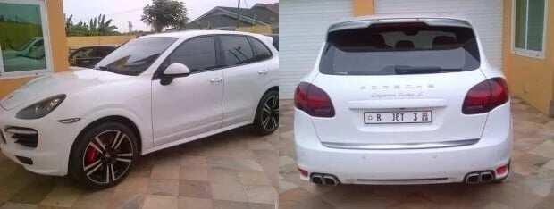 Asamoah Gyan cars