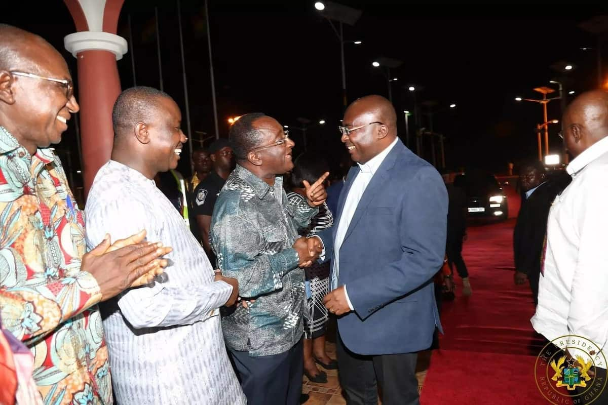 Agric Minister, Dr Owusu Afriyie Akoto had a word for Dr Bawumia
