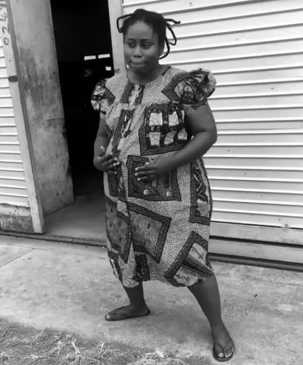 Pregnant Lydia Forson dancing is the best way to start the new year