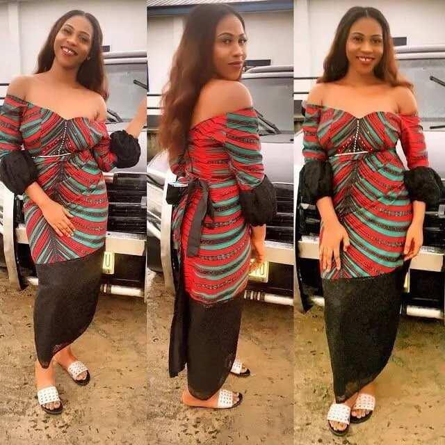 modern short african dresses