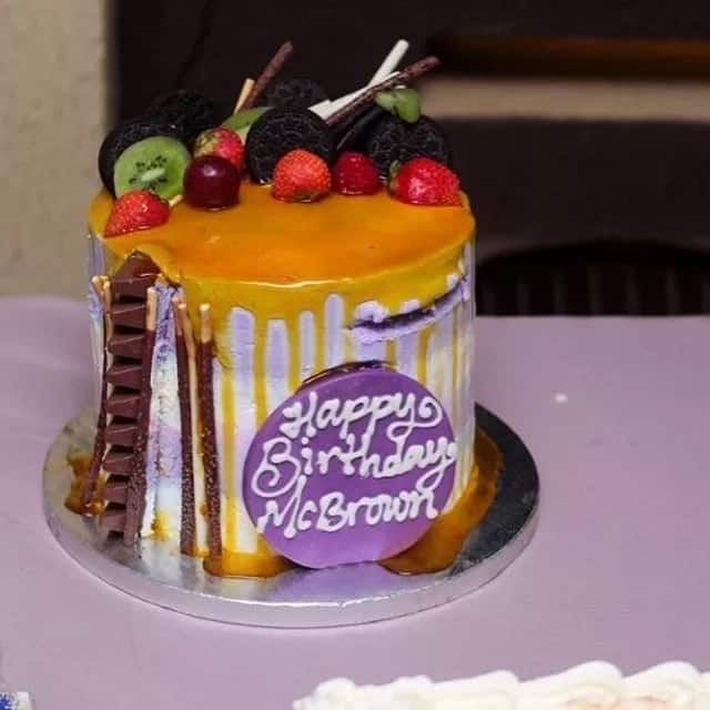 These are all the amazing cakes Nana Ama Mcbrown received on her birthday