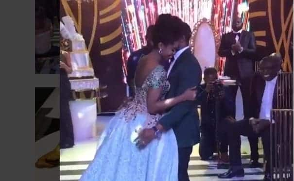 Video: Becca dances with new husband at wedding in Accra