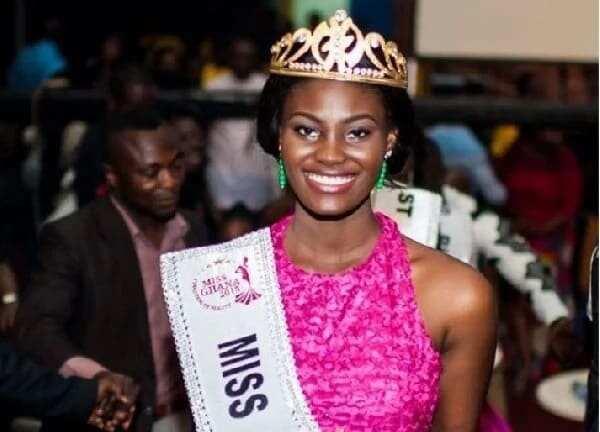 Former Miss Ghana 2015 Antoinette Delali Kemavor. Photo credit: Ghananewspage.com