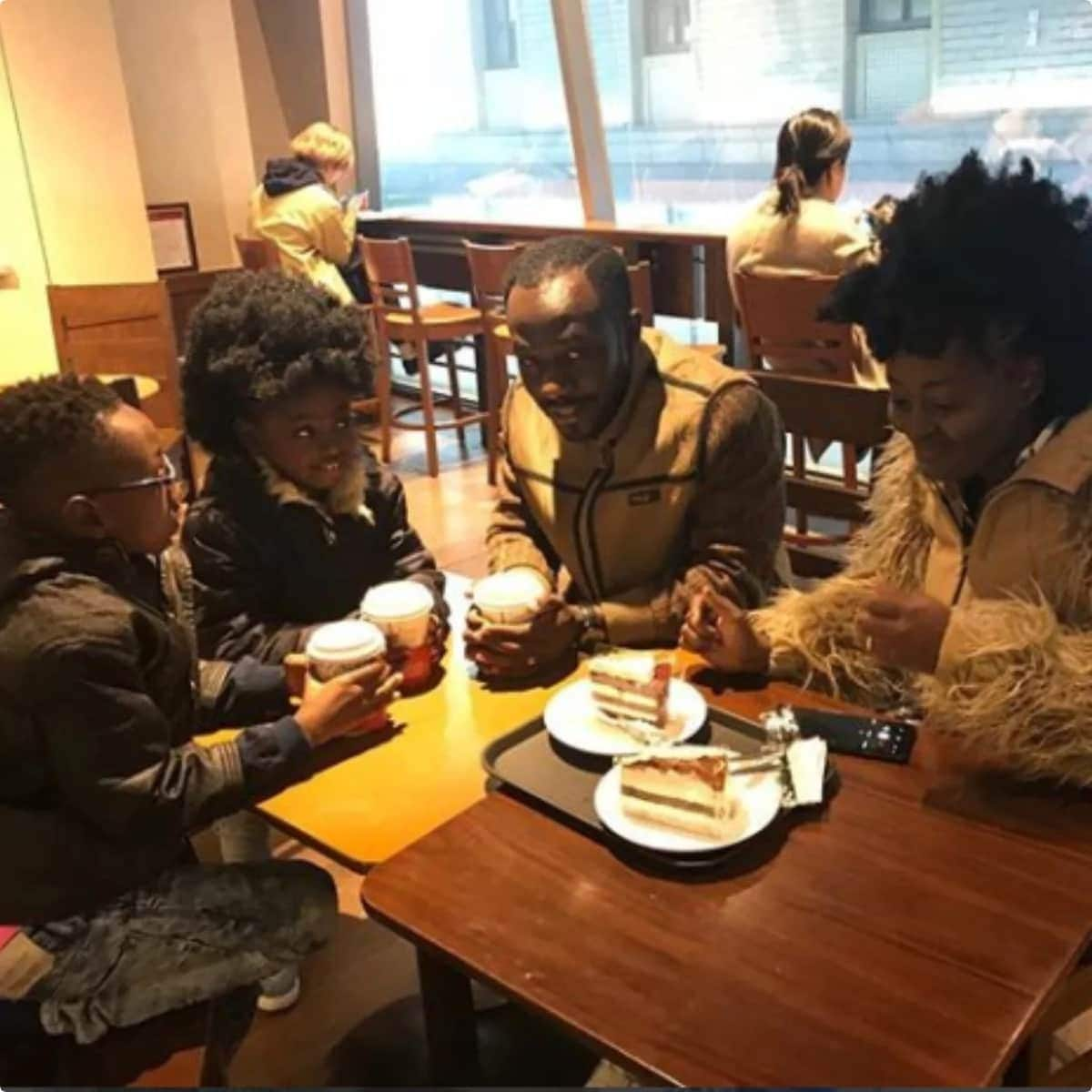 Okyeame Kwame shares more pictures from his trip with family