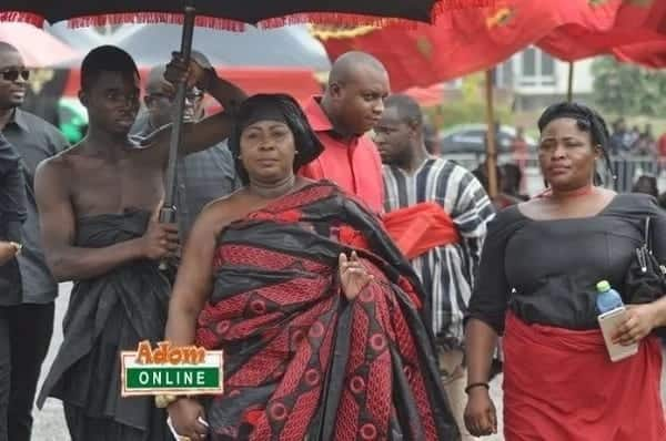 What Oheneyere Gifty Anti wore to KABA's funeral