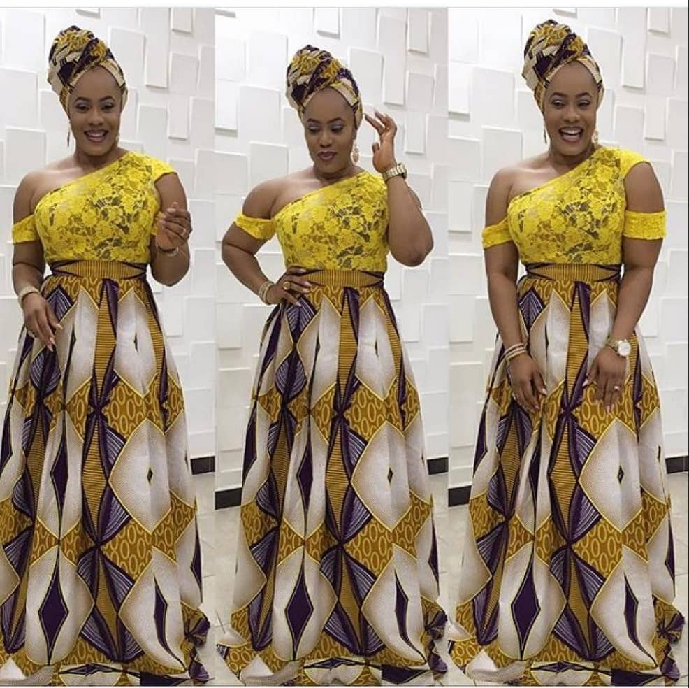 nigerian lace styles african lace styles designs ankara and lace