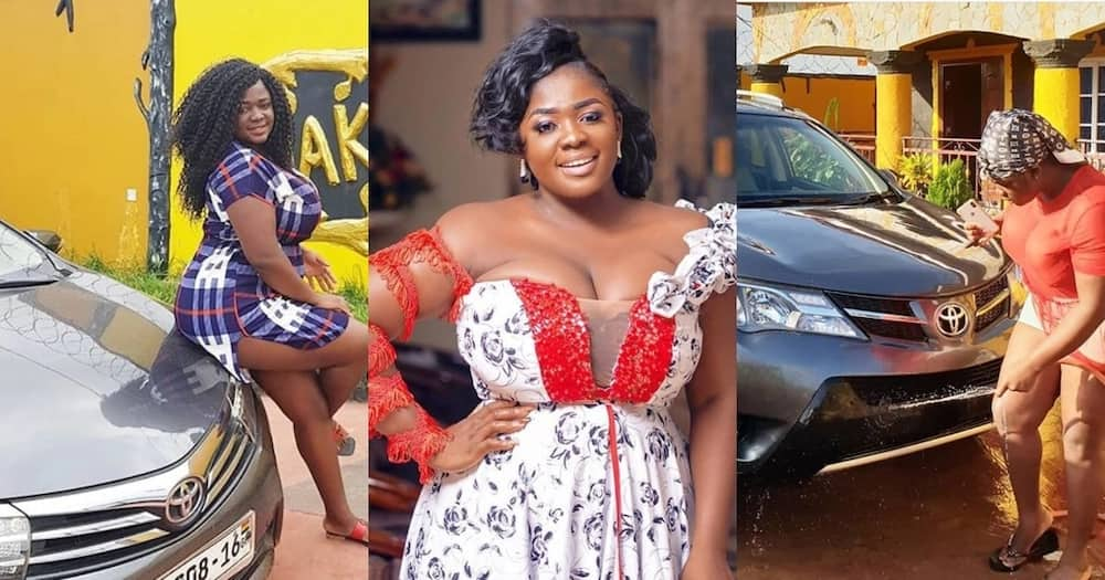 Tracey Boakye's daughter looks bigger and fine in latest photo