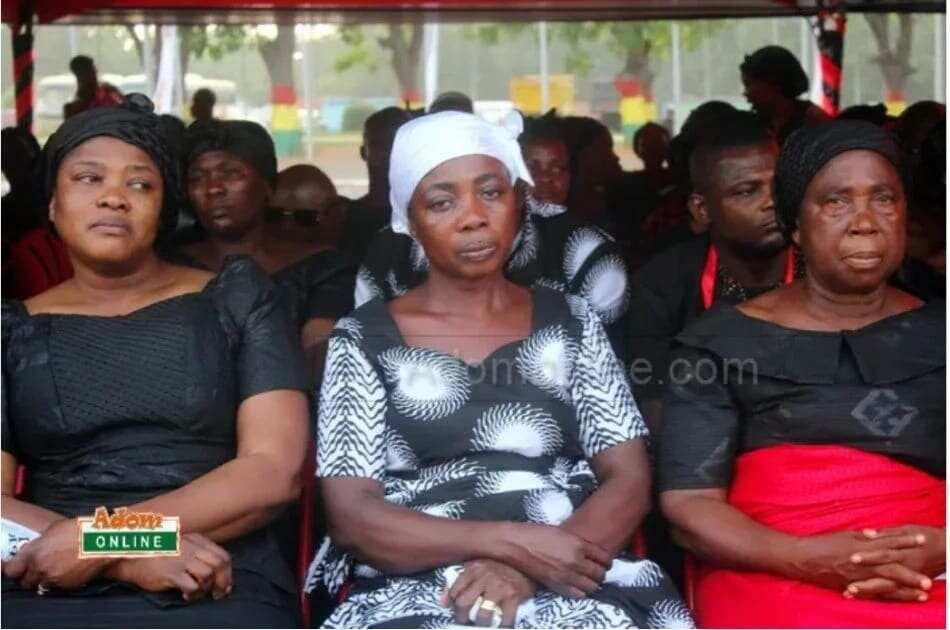 KABA's widow, mother bid farewell to their precious man