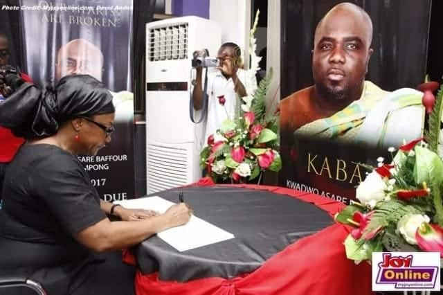 21 heartbreaking moments that were captured at KABA's memorial