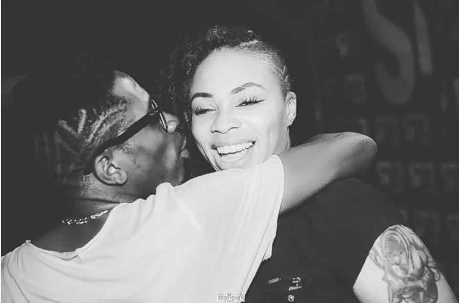 Shatta Wale and Shatta Michy in fun times