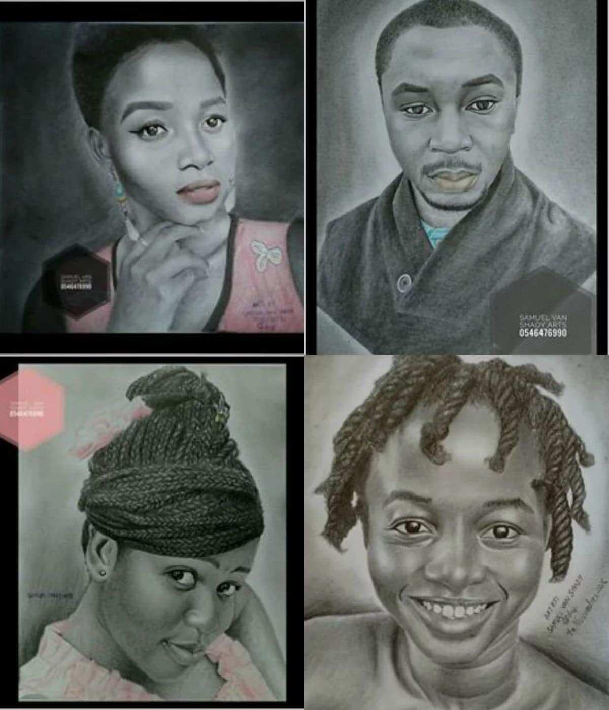 Samuel Ameleto is a talented artist
