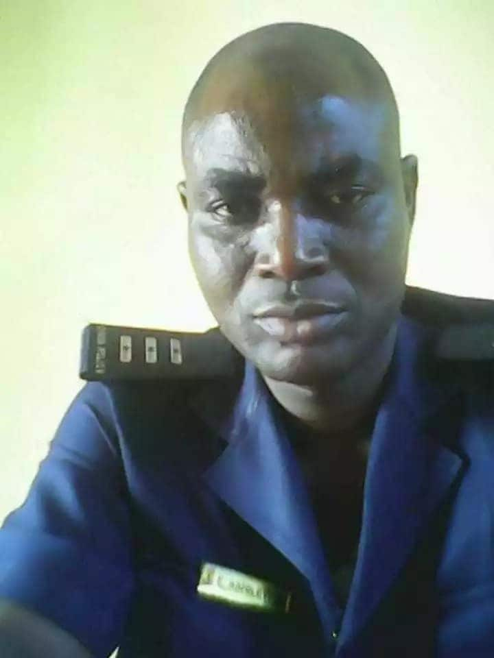Ghanaian police officer