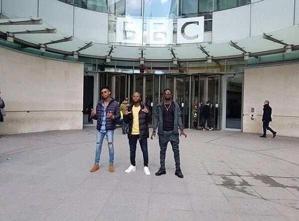 King Promise, Kuami Eugene and Kidi interviewed on BBC