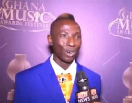 Patapaa angrily 'fires' Charter House in a latest video after losing at VGMAs (Video)