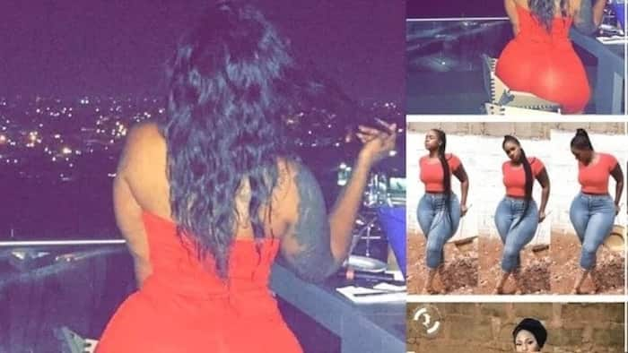 Here are wild photos of the woman with the biggest natural hips in Ghana