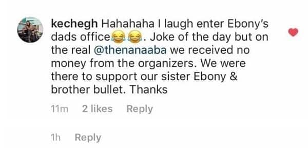 Artistes deny taking money to perform at memorial for Ebony Reigns