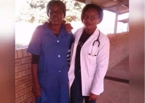 Daughter of hospital cleaner becomes a medical doctor