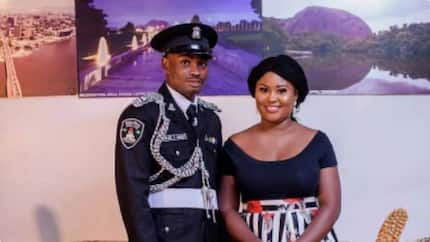 Adorable pre-wedding photos of policeman and his sweetheart surface online