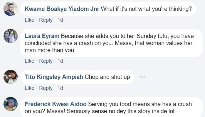 The wife of my co-tenant wants me, she serves me Fufu every Sunday - Confused tenant asks for help