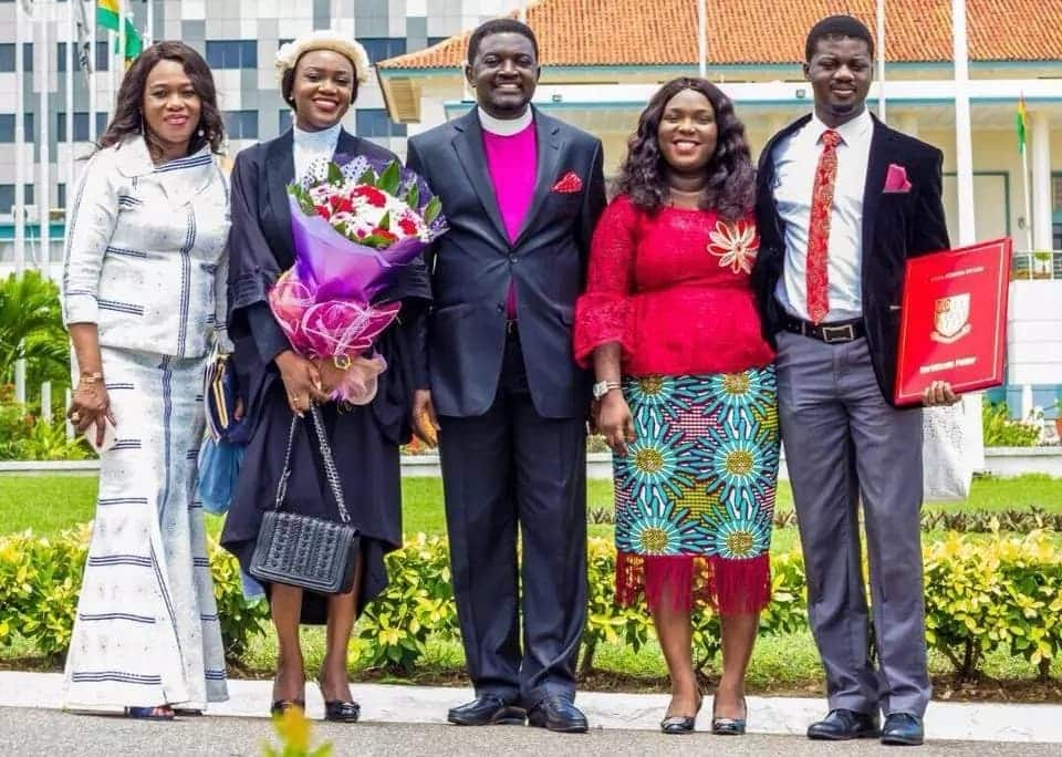 Bishop Agyinasare's 'baby' has been called to the bar in Ghana & UK and he's so excited