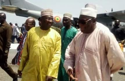 Bagre Dam spillage: Bawumia lands in Upper West to provide relief items