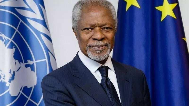 The late Kofi Annan