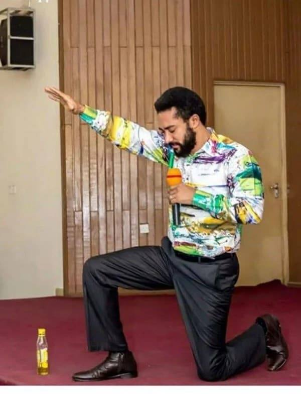 This photo of Majid Michel will make you believe in the anointing oil