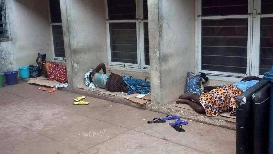 These photos from the Effia-Nkwanta Regional Hospital in Sekondi-Takoradi will break your heart