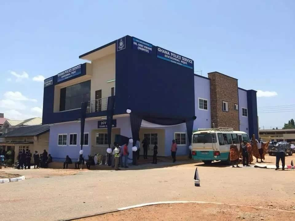 Despite has built an ultra-modern police station at Tesano