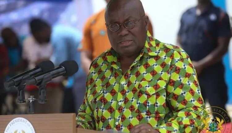 A man giving a speech