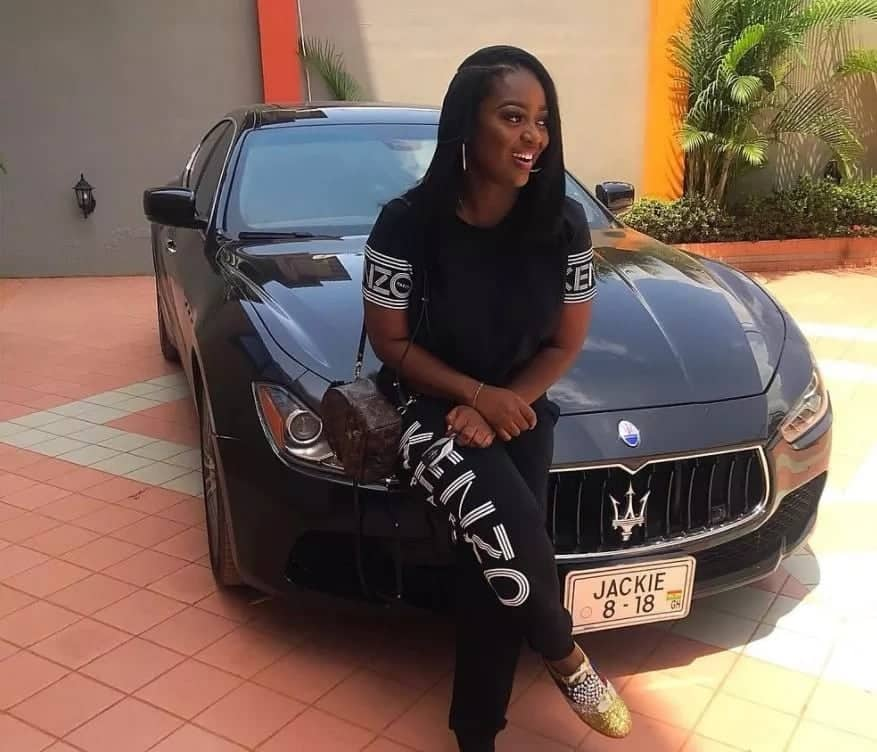 Image result for jackie appiah customized plate