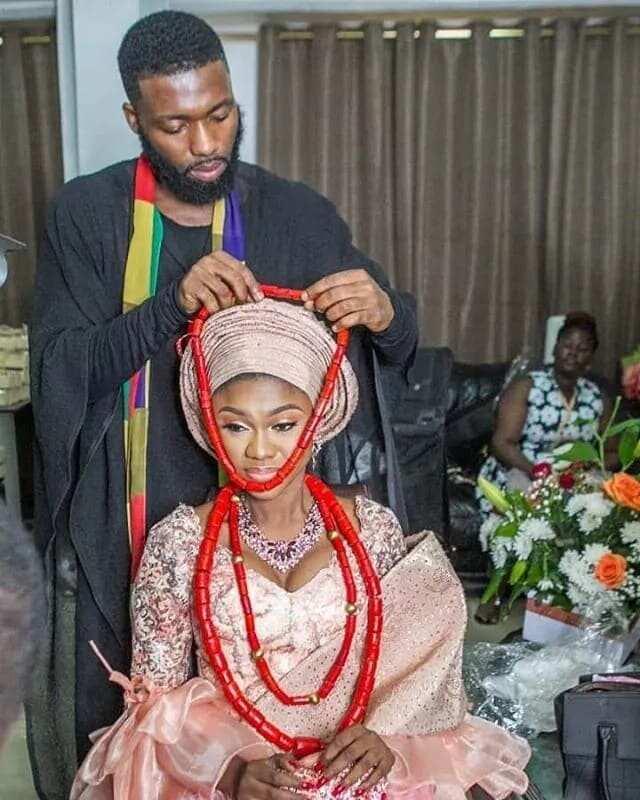 More unseen photos from Becca's wedding to Tobi Sanni Daniel drop