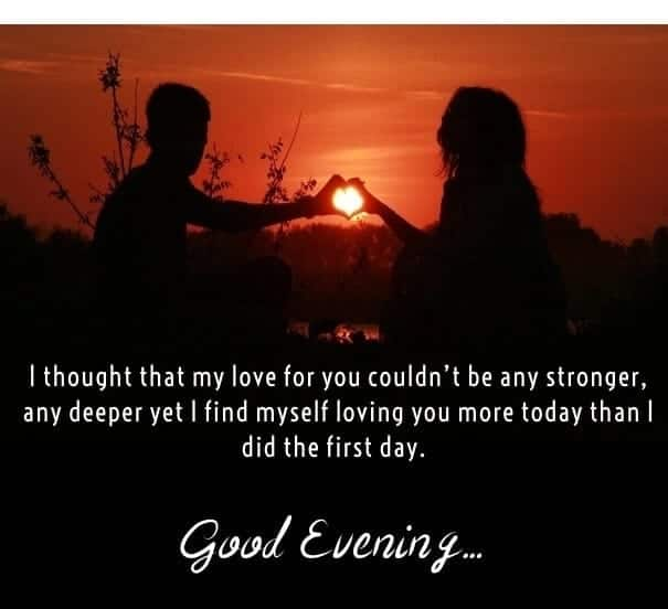 Top 50 Good Evening Love Messages Sms And Quotes Yencomgh