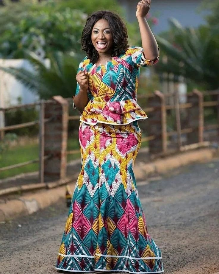 African print styles for church