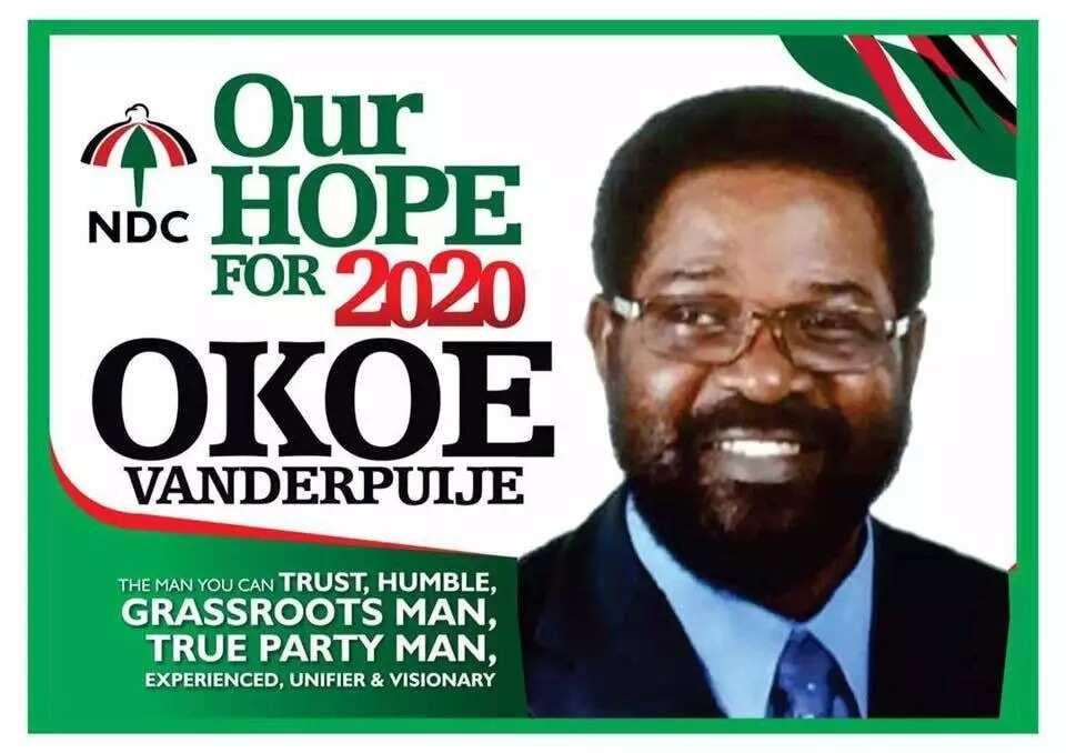 Okoe Vanderpuije enters NDC 2020 race