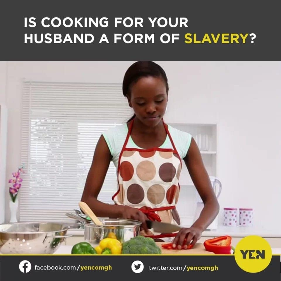 Social media users debate each other over wives cooking for their husbands