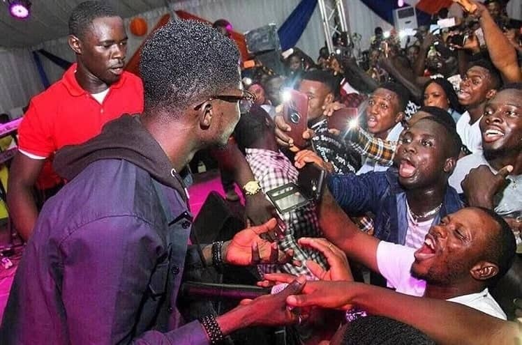Kuame Eugene given heroic treatment at event