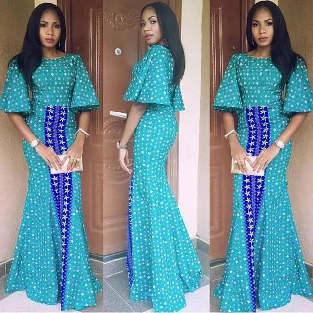 Best ankara dresses with sequence in 2018