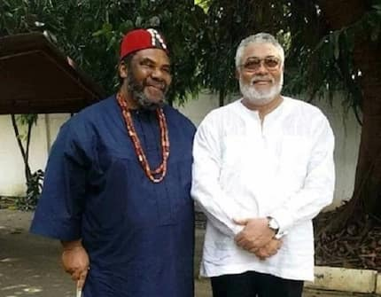 Pete Edochie has suggested a very scary solution to Rawlings to end corruption and we're afraid for politicians