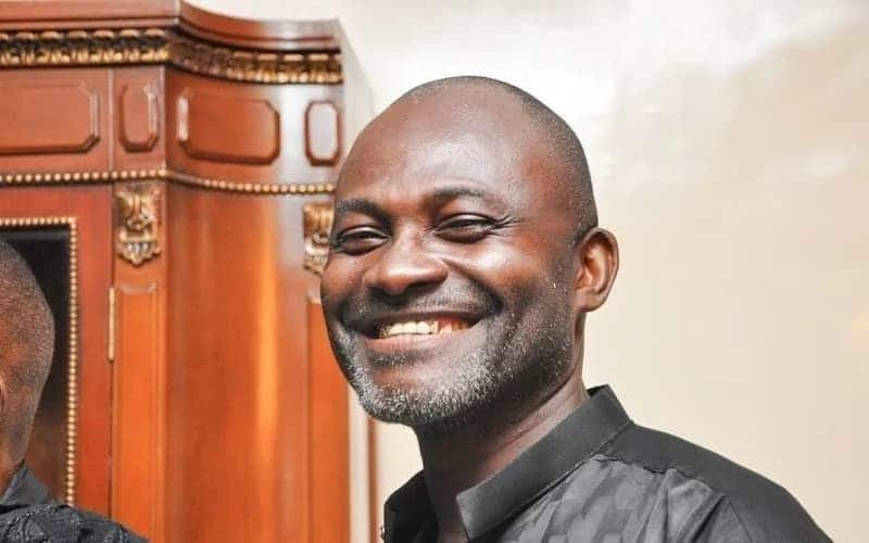 Kennedy Agyapong smiling