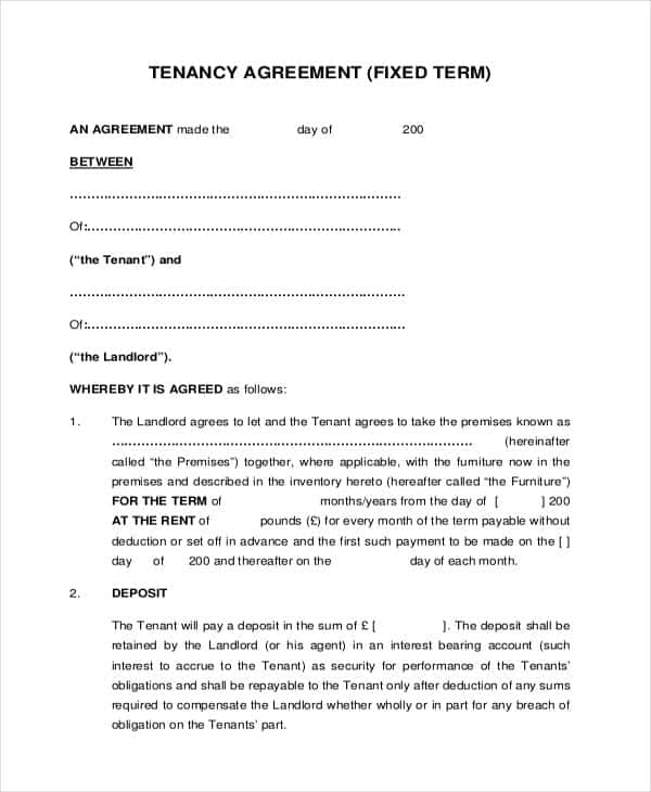 How To Write A Tenancy Agreement In Ghana With Samples