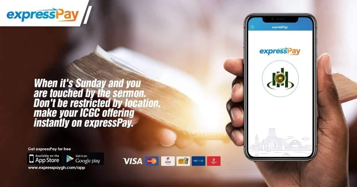 ICGC now takes collection of tithes and offerings online